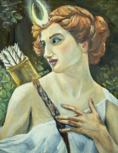 Goddess Diana Huntress