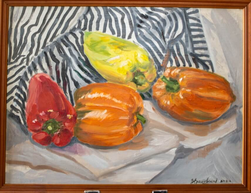 Peppers and stripes