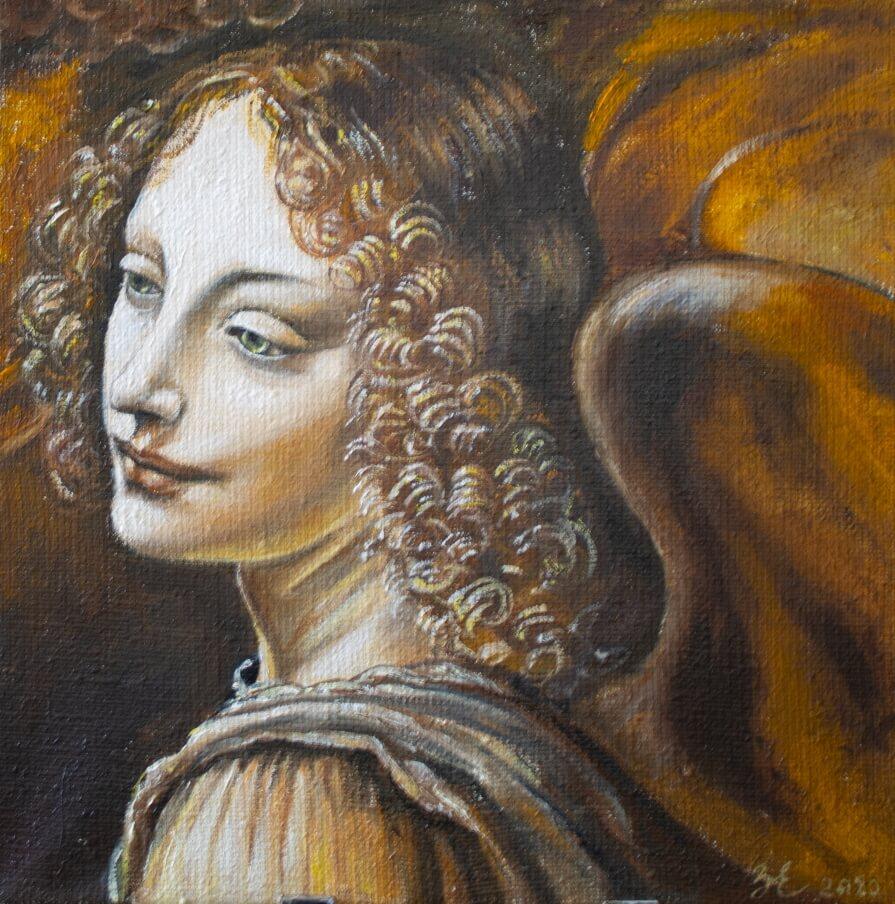 Da Vinci angel