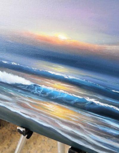 impasto oil paint